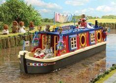 Sylvanian Canal Boat - from my BPD blog.