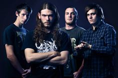 Music Photography - Band promo for metal band The Dying Reflex