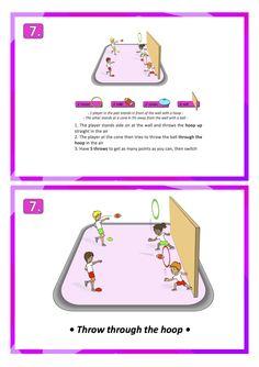 american football throw skill games pe school sport education teach lesson