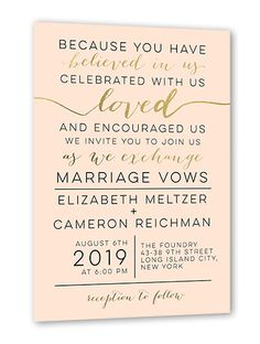 I like the frank tone but there will be speeches and awkwardness is elegant delight 5x7 wedding invitations stopboris Choice Image