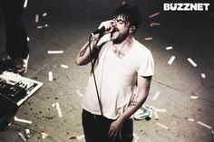 Anthony Green from (current project) Circa Survive... can't even handle his hotness.