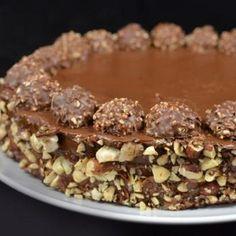 Ferrero Rocher Cake Recipe Recipe - Mom's Dish & ZipList