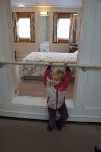 Visiting Scotland with toddlers--Royal Yacht Britannia