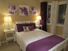 Purple Accents In Bedrooms U2013 51 Stylish Ideas | DigsDigs