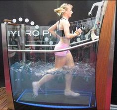 Underwater Treadmill Takes Exercising to New Depths