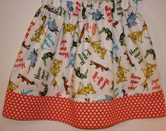 Horton Hears A Who Skirt  Size 2  8 by bubblenbee on Etsy