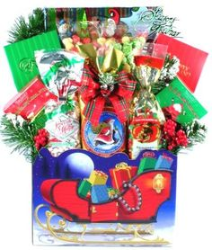 Gift Basket Village Sleigh Bells Ring Christmas Gift Basket >>> Read more at the image link.