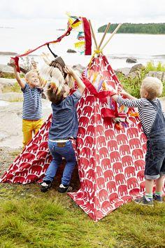 Finlayson Elephant cotton fabric I Elefantti-puuvillakangas 14,25 € / m
