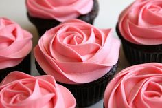 """Rose cupcakes"" https://sumally.com/p/511415"