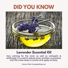 If you're worrying about acne and don't have any money to visit a dermatologist, lavender essential oil will make you cover! Because aside from giving a soothing and refreshing scent, this oil also acts as antiseptic and antifujngal, as it also reduces acne, wrinkles and psoriasis!   For professional assistance, more information or making appointment, contact us at: 6225 6900 / 6534 9108 Follow us on Instagram: https://www.instagram.com/ #queenginya #queenginyasg #queenginya #beautyspasg…