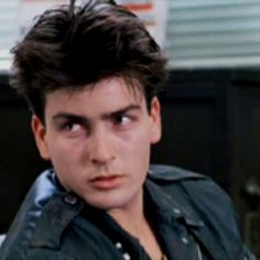 Charlie Sheen in Ferris Bueller's day off & Two and a Half Men