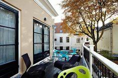 Wonderful terrace at B Gregorius in Utrecht