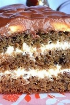 Acesta este pe departe cel mai rapid tort pe care l-am preparat vreodata Romanian Desserts, Food Cakes, Kefir, Banana Bread, Cake Recipes, Birthday Cake, Pudding, Wall, House Cake