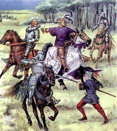 Карл 8 в битве при Форново