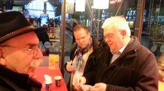 Drei der Social Media Cracks - Handwerker 2.0 - Abschiedskaffee Frankfurt HBf. War ein klasse Tag :-)