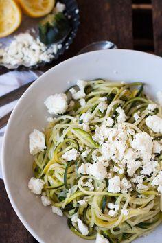Zucchini-Spaghetti mit Zitrone und Feta_Rezept4