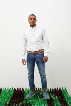 Jeans reciclados.