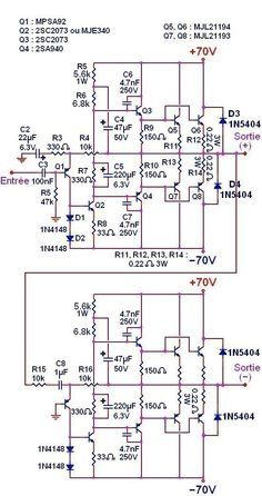 200w mosfet amplifier based irfp250n pcb design