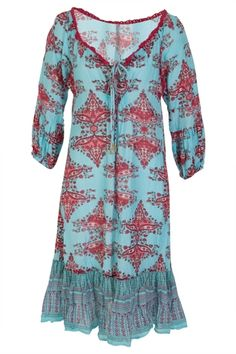 Naudic Suzani Butterfly Dress - Womens Knee Length Dresses - Birdsnest Online Shop