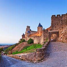 Carcassone France. Got to visit and tour the castle.