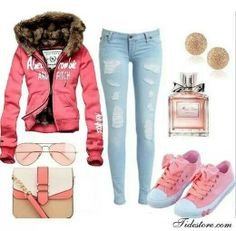 Ambercrombie pink