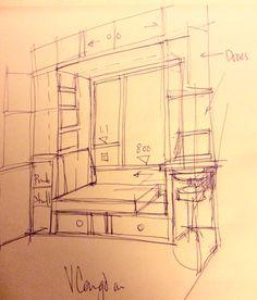 Library/office/desk/homework/reading/lazing/storage window box by VC Design