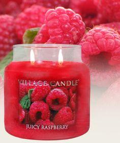Juicy raspberry....I bet that smells gooooood!!