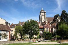 Ville et collégiale de Dole | Jura, France | Photo A. Dalloz/Jura Tourisme | #JuraTourisme #Jura