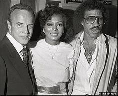diana ross married arne naess | Franco Zeffirelli, Diana Ross and Lionel Ritchie