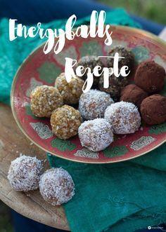 Energyballs Rezepte selbermacher - Kokos Limette, Feife Kakao und Aprikose Mandel