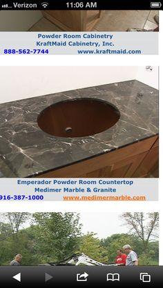 Kitchen countertop - black countertop