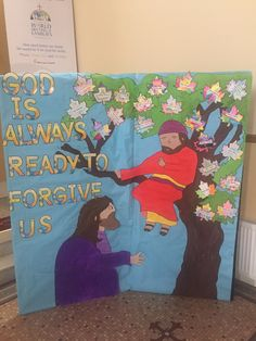 Classroom Displays, Classroom Ideas, First Holy Communion, Confessions, School Ideas, Catholic, Art Ideas, Religion, Projects To Try