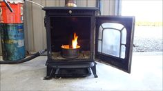 Cool DIY Video : How to convert your old Wood Burning Stove to burn Waste oil . Produces large amount of Usable Heat | Practical Survivalist