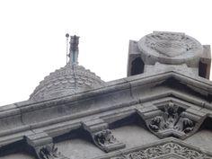 Some of the architecture woven into Sacre Coeur in Paris.