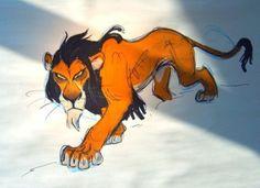 The Lion King Concept Arts