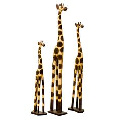 Carved Wooden Giraffe are great for creating your own safari or 'giraffari'. Hand carved and hand-painted in natural colours. Charmed Characters, Giraffe Decor, Hand Carved, Hand Painted, Pre Christmas, Felt Fabric, Home Decor Furniture, Unique Home Decor, Hand Coloring