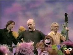Another clip that always makes me giggle lots! REM and The Muppets:  Furry Happy Monsters Shiny Happy People [HQ]