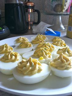 Deviled Eggs..this one is easy and my favorite