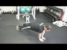 Push Up Plus - Serratus Anterior Exercise for Winged Scapula  phenomenal for winged scapulas