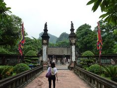 On the 2nd day of the Imprint Vietnam trip we explore the rural ancient citadel ruins and the Dinh & Le Temples.