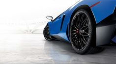 Lamborghini Aventador SV Roadster roues