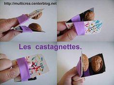 castagnettes met walnoten