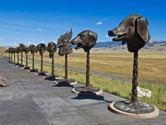 Here are some bizarre roadside attractions in Wyoming that will make you do a double take. Go ahead and embrace the weirdness, Wyoming! Casper Wyoming, Cheyenne Wyoming, Wyoming State, Best Places To Travel, Places To See, Yellowstone National Park, National Parks, Wyoming Vacation, Tennessee Vacation