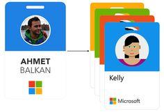 Microsoft receives an employee badge update.