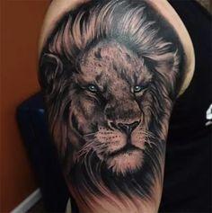 Outro Leão #otherlion #blackandgray #pretoecinza #ink #tattoo