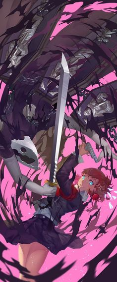Persona 3 Portable - Female Protagonist and Thanatos by Nanaya Persona 5, 5 Anime, Anime Art, Anime Guys, Video Game Art, Video Games, Game Character, Character Design, Atlus Games