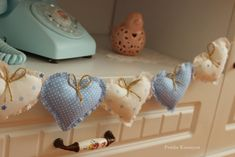 kalp kumaş banner nasıl yapılır? kalp kalıbı, vintage ev, diy projesi, Fabric heart bann pattern