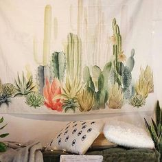 """Size:approx.145cm 145cm / 57""""x57"""" approx. Wall Decor, Wall Art, Bed Cover, Room Divider, Curtain, Table Cloth, College Dorm. Almost any for Home Decor Purpose like- Tapestry, Wall Hanging, Bedspread. 