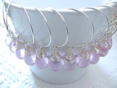Bridesmaid gifts  Set of 6  Earrings  by BijouxdelloStregatto, €78.00