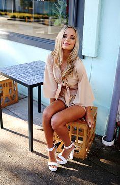 Kristen Antrobus wearing the Always On Playsuit